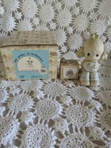 Enesco Precious Moments 1984 Symbol of Membership Join In On The Blessing Figure - $9.69