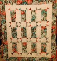 Iris Shoo Fly Quilt - $43.00