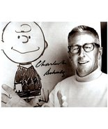 CHARLES SCHULZ Signed Autographed 8X10 Photo w/ Certificate of Authenticity  - $85.00