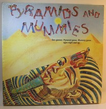 Vintage 1988 Pyramids And Mummies Board Game 2 n 1 NEW Sealed Egypt, Pha... - $20.38