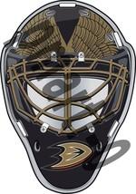 Anaheim Ducks Front Goalie Mask Vinyl Decal / Sticker 5 Sizes!!! - $3.99+