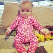 Newborn Infant Kids Baby Girls Zipper Romper Jumpsuit Bodysuit Clothes O... - $24.10