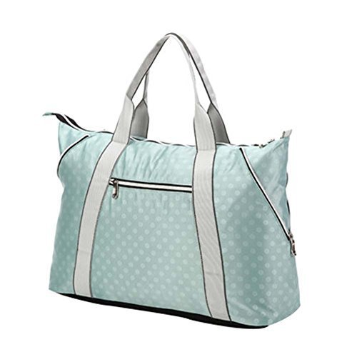 Wathet Dot,Fashionable WaterProof High Capacity Baby Bottle Tote Bag