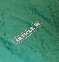Pair Of 2 Article 99,SCRUBS, Movie Promo, L, New,Studio Provided Rever Si Ble, - $2.76