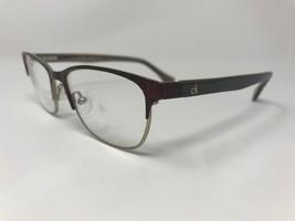 CALVIN KLEIN Eyeglasses Frame CK5413 604 52-17-135 Burgundy/Gold HG76 - $46.31