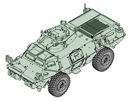 Trumpeter 1/72 United States Armed Forces M 1117 Guardian Plastic Model 07131 - $39.00