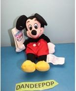 "Walt Disney Store And Parks Mini Bean Bag Plush Mickey Mouse 7"" - $9.89"