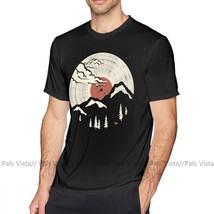 Mountain T Shirt MTN LP T-Shirt Mens Short Sleeve Tee Shirt Cute 6xl 100 Cotton  - $34.34