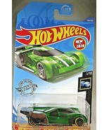 2020 Hot Wheels #136 X-Raycers 1/10 LINDSTER PROTOTYPE Green/Chrome w/Bl... - $6.75