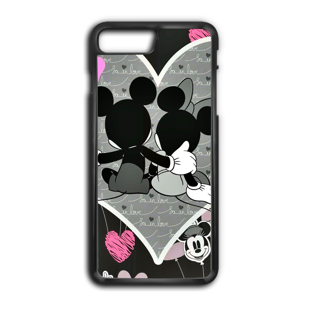 Mickey minnie mouse in love poster