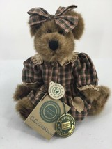 "Boyds Country Clutter C C Goodbear Girl Jointed Plush Teddy 10"" Tall - $14.01"