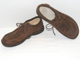 UGG AUSTRALIA MEN BROWN SUEDE LEATHER LOW TOP LACE-UP SHOES 11M S/N# 167... - $1.186,36 MXN