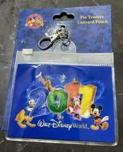 Walt Disney World Parks Pin Traders Lanyard Pouch 2011 - $7.82
