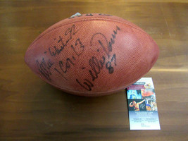 REGGIE WHITE WILLIE DAVIS SBC PACKERS HOF SIGNED AUTO WILSON DUKE FOOTBA... - $890.99