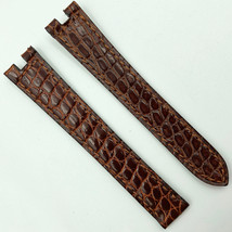 Authentic Cartier 14mm Brown Leather Strap for Deployant Clasp - $267.00