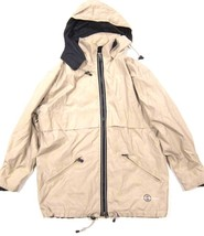 Womens BOGNER Weather Gear Jacket in Tan - Windbreaker Rain Coat - sz 8 - $44.54