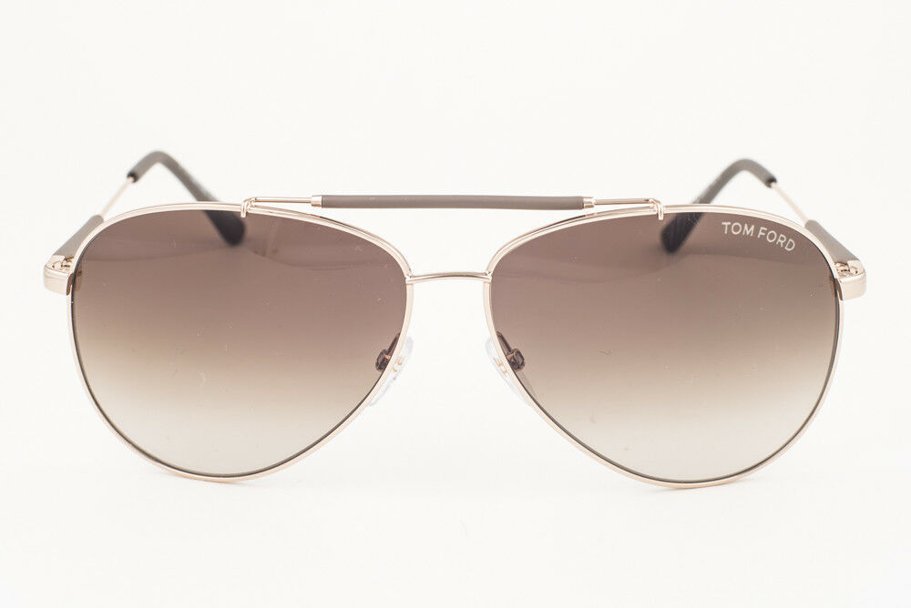 Tom Ford Rick Gold / Brown Gradient Sunglasses TF378 28J