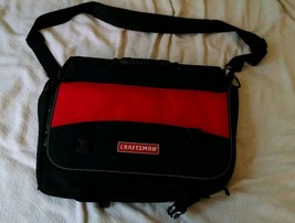 "Craftsman Tool Bag Tote Storage 18"" x 13"" multiple Compartment EDC - $19.80"