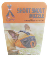 XL Gray Snort Snout Muzzle With Eye Holes -M5 - $17.99
