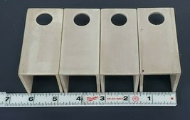 LOT OF 4 NEW WESTINGHOUSE 366C147-H05 PUMP INSULATING CHANNELS 366C147-Y05