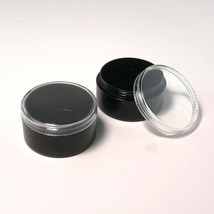 2000 Cosmetic Containers Wholesale Black Plastic Jars 30 Gram Ml Clear L... - $2,419.95