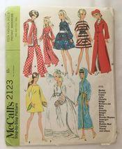 McCall's 2123 Teen Fashion Dolls Instant Wardro... - $15.00