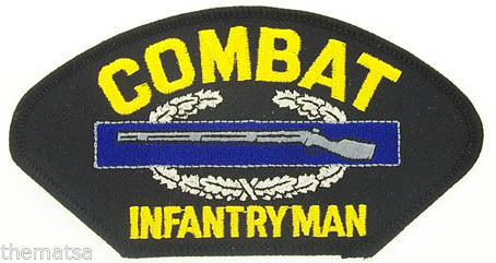 Primary image for ARMY COMBAT INFANTRYMAN SOLDIER EMBROIDERED MILITARY  PATCH