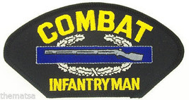 ARMY COMBAT INFANTRYMAN SOLDIER EMBROIDERED MILITARY  PATCH - $13.53