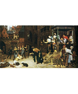 The Return of the Prodigal Son Painting by James Tissot Art Reproduction - $32.99+