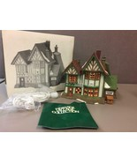 "Department 56 Dickens Village ~""Hembleton Pewterer"" Building w/ Box #58009 - $41.57"