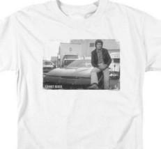 Knight Rider Retro 80's TV series David Hasselhoff and KITT graphic tee NBC792 image 2