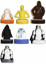 INNOVATIVE DESIGNS* Figural STAR WARS PUZZLE ERASER/PENCIL TOPPER*YOU CH... - $2.96