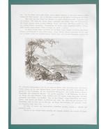 CHINA Views in Hong Kong Canton Macao - (8) Eight Woodcut Illustrations - $9.71