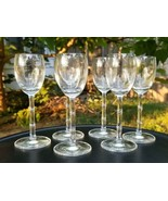Schott Zwiesel Crystal Cordials Bamboo Stems Set of 6 Made in Germany  - $37.95