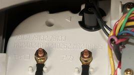 96-99 Montero Sport Voltage Temp Compass Oil Pressure Aux Dash Gauge W/Bracket image 6