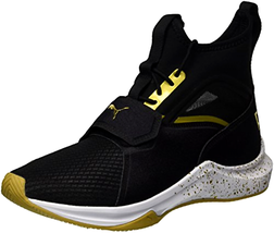 PUMA Women's Phenom Gold Wn Sneaker, Black Team Gold - Choose SZ - $99.82+