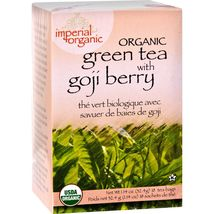 Uncle Lee's Imperial Organic Green Tea with Goji Berry - 18 Tea Bags - $5.99