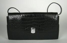 Lauren Ralph Lauren Bag Small Strap Handheld Purse Black Clutch Fabric H... - $410,95 MXN