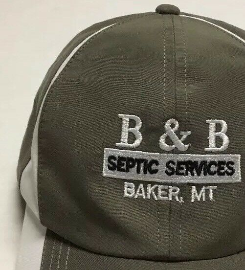 B And B Septic Services Hat Plumbing Baker Montana Cap Plumber Maintenance MT