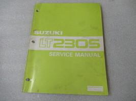 Suzuki LT230S Service Manual P/N 99500-42034-01E - $12.16