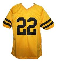 Sylvester Stallone #22 Lincoln High School Men Football Jersey Yellow Any Size image 1