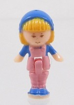 1990 Vintage Polly Pocket Doll Flower Shop - Midge Bluebird Toys - $7.50
