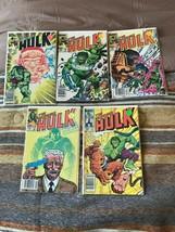 5 Marvel comics The Incredible Hulk #288-291 #293 VG/FN (5.0) cond. - £12.42 GBP