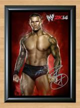 Randy Orton WWE Signed Autographed A4 Print Photo Poster Memorabilia ufc mma wwf - $9.95