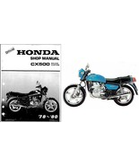 78-80 Honda CX500 Service Repair Workshop Manual CD .. CX 500 - $12.00