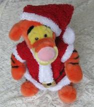 Plush Santa Tigger - $14.80