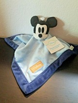 Disney Classic Mickey Mouse Collection Security Blanket Blue Tags - $14.62