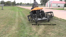 """93"""" Aerator Coring Turf Trailer for Golf Course, Sports Complex  - $5,328.00"""