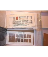 Pottery Barn Kids 2 Matching Frames Baby First Year Silver Leaf UNUSED T... - $95.98