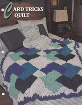 Card Tricks Quilt, Annie's Crochet Quilt & Afghan Pattern Club Leaflet 1... - $2.95